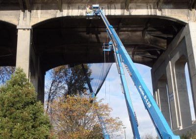Burrard Bridge Concrete Girders