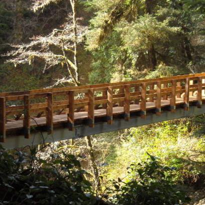 Sandstone Creek Pedestrian Bridge
