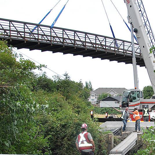 Nicomekl River Pedestrian Bridge